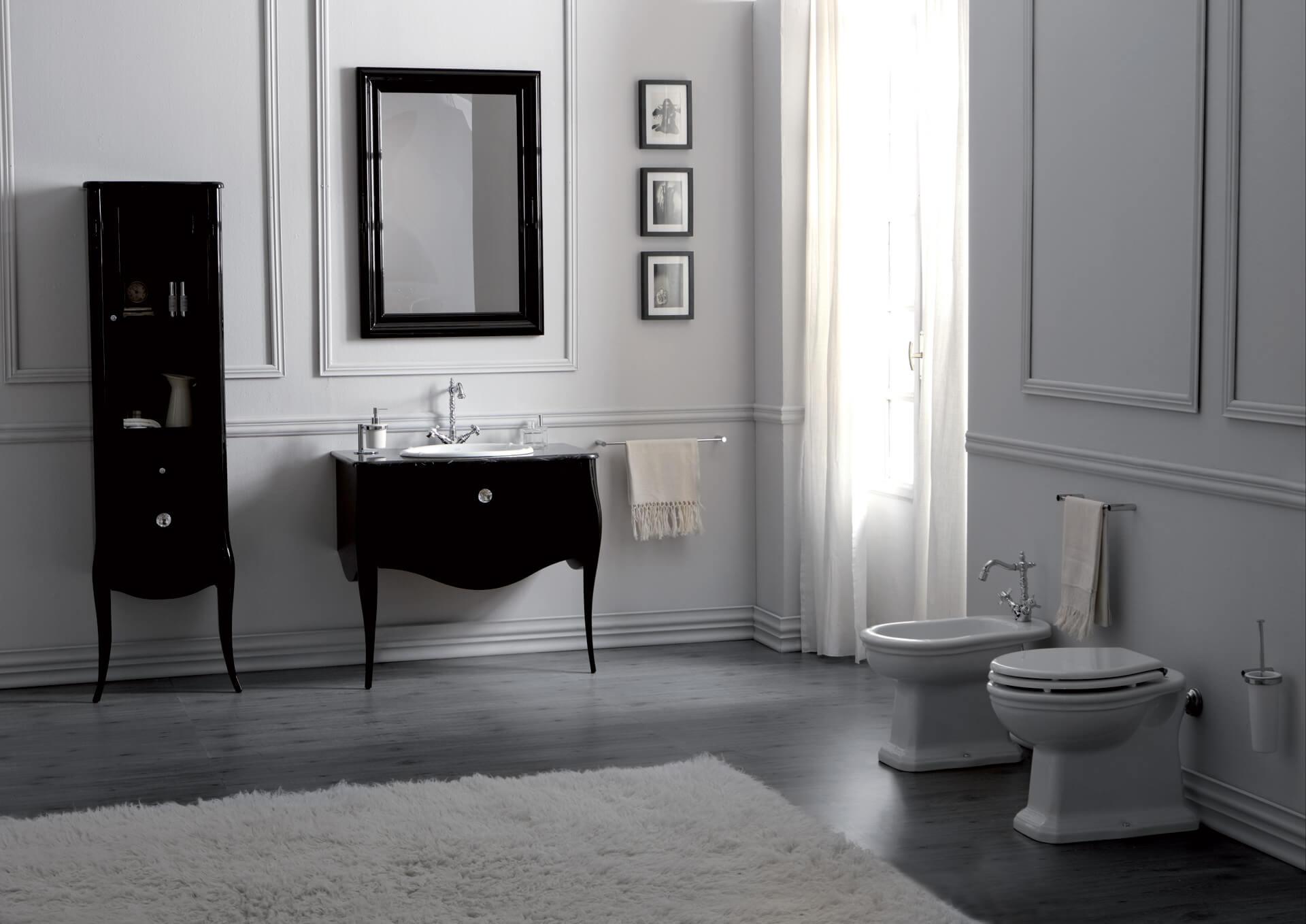 Aranżacje łazienek Retro Zdjęcia Lazienkaretroeu